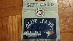 $50 Rogers Blue jays gift card
