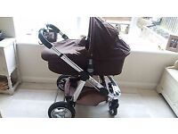 I candy Apple single travel system