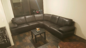 Beautiful FREEDOM genuine leather, modular lounge RRP $4900. Craigie Joondalup Area Preview
