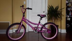 20 in girl's bike
