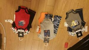 Brandnew 3 peice outfits Dc & Quicksilver