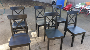 6 dinning chairs Geelong Geelong City Preview