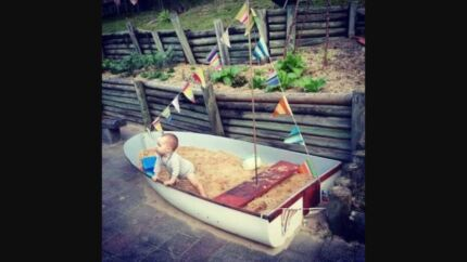 Wanted: Wanted: boat for sandpit