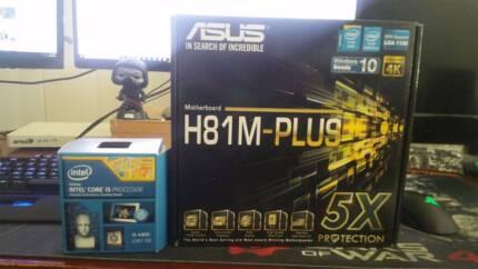 I5 4460, 16gb ram, Motherboard
