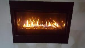Linear Gas fireplace Sale
