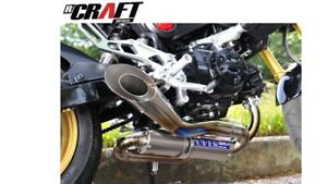 HONDA GROM OVER RACING Spiral Full Titanium Exhaust Bringelly Camden Area Preview