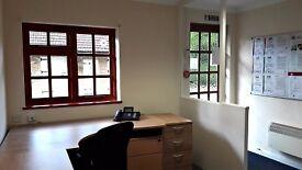 'Start-up' desk/ hot-desk - The Studio, The Post-house, Kitsmead Lane, Longcross, Chertsey, Surrey