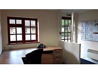 'Start-up' desk/ hot-desk - The Studio, The Post-house, Kitsmead Lane, Longcross, Chertsey, Surrey