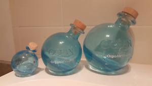 Ocean vodka empty  bottles $ 8 all 3 Florey Belconnen Area Preview