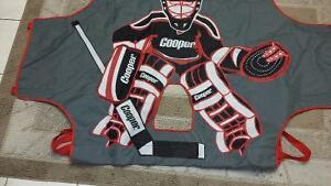 Brand New- Cooper Fake Hockey Goalie to shoot at