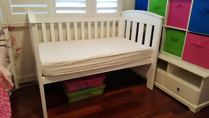 Boori classic country cot with mattress Wembley Cambridge Area Preview