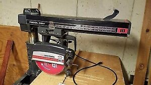 """wanted craftsman 8,9,or 10"""" radial arm saw"""