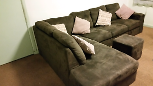 L shape sofa as new...with bed set..fridge..dining and more Heidelberg West Banyule Area Preview