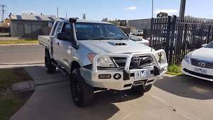 2005 Toyota Hilux Space Cab EXTRA LONG TRAY Ute 4X4 TURBO DIESEL Williamstown North Hobsons Bay Area Preview