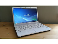 Bargain SONY Vaio (vpceb3f4e) with 4GB Ram 320GB HDD Windows 10 and Office 2013