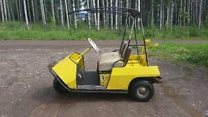 Westinghouse electric golf cart