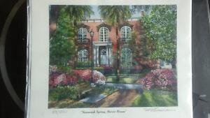 """Savanna Spring, Mercer House"", by W.H. Rousseau Kitchener / Waterloo Kitchener Area image 1"