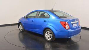 2015 Holden Barina TM MY16 CD Blue 6 Speed Automatic Sedan
