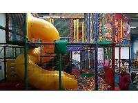 KIDS CHILDRENS SOFT PLAY INDOOR CENTRE FRAME STRUCTURE FOR SALE BUSINESS