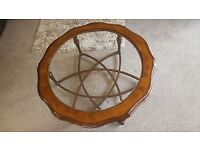 Willis Gambier Oak Burl coffee table offers considered