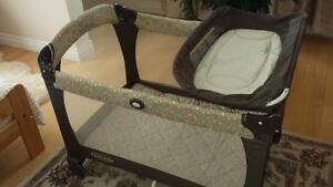 Jogging/cycling Stroller and baby parc