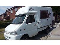 FOR SALE £4,750 ovno Suzuki Romahome Camper Van 11 months MOT very good all round condition