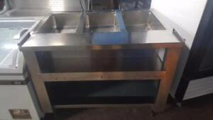 4 FT STEAM TABLE