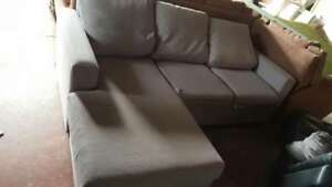 Fabric PU Leater Cheap 2/3 Seater Sofa Bed From $130 Clayton South Kingston Area Preview