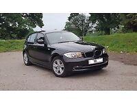 2010 BMW 120D AUTO BLACK 55 DR FSH SUNROOF