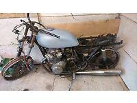 Kawasaki Z400 Twin Spares Bike