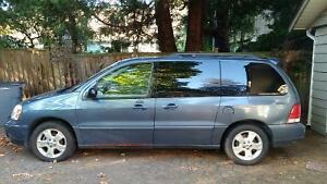 Blue 2006 Ford Freestar Minivan