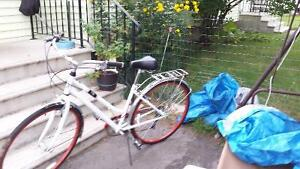 """FOR SALE lady's 5 speed 27"""" road bike."""