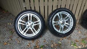 Winter tire package for Audi A4 (or equivalent) Kawartha Lakes Peterborough Area image 2