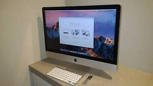 """Great condition 27"""" Apple iMac (2009 Model) Artarmon Willoughby Area Preview"""