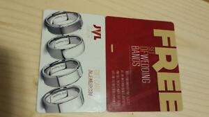 free set of wedding bands from JVL Jewelry