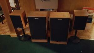 Klipsch Floor and Bookshelf Speakers