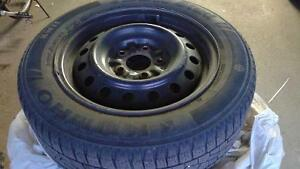 Winter Kumho Tires with Rims (Used)