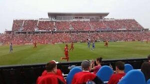 TFC 1st PLAYOFF HOME GAME EVER !! 2 BOX RACING SEATS