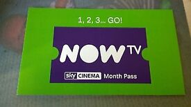 NOW TV Movies 2 Month Sky Cinema Pass - Reduced to clear