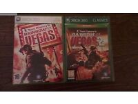 Tom Clancy's Rainbow six VEGAS and VEGAS 2 on Xbox 360 - First person shooter games