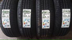 4X 195 55 16 Brand New Tyres Corsa size