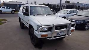 1992 Toyota 4 Runner Wagon LOW KMS 4X4 MANUAL Williamstown North Hobsons Bay Area Preview