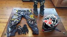 YOUTH MOTOR BIKE GEAR - SUIT 8-10 YEAR OLD Glenorie The Hills District Preview