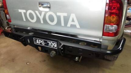 NEW HILUX REAR TOWING STEP