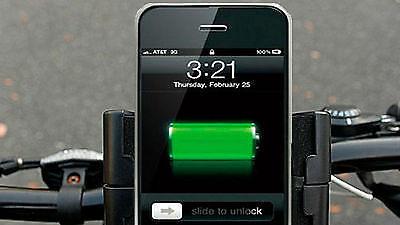 Lade Dein Handy und halte Dich fit in einem Schritt!