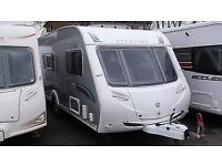 2008 caravan 2 berth with motor mover and £1000 of extras