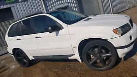 image for Bmw x5 e53 3.0d auto sport white PLEASE read