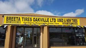 195 55 16, Used tires, Runflat.