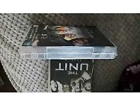 dvd box set the unit ..season 3/4 ..new and used