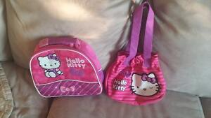 Hello Kitty lunch bag and purse